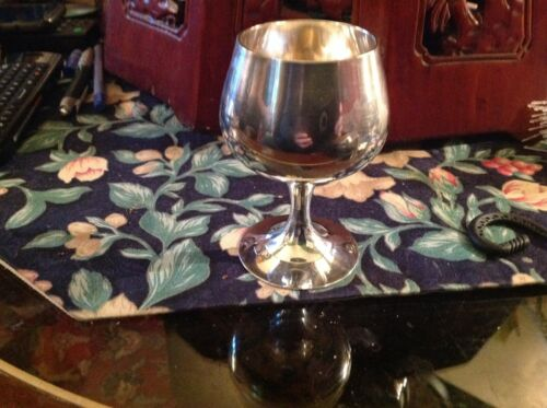 Silverplate Wine goblet