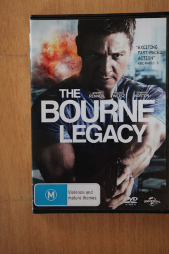 The Bourne Legacy - Jeremy Renner Edward Norton VGC PRE OWNED (Box D6)