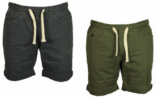 Mens Brand New Trun-Up Shorts Casual Bell Field Elasticated Waist Sizes 30 to 36