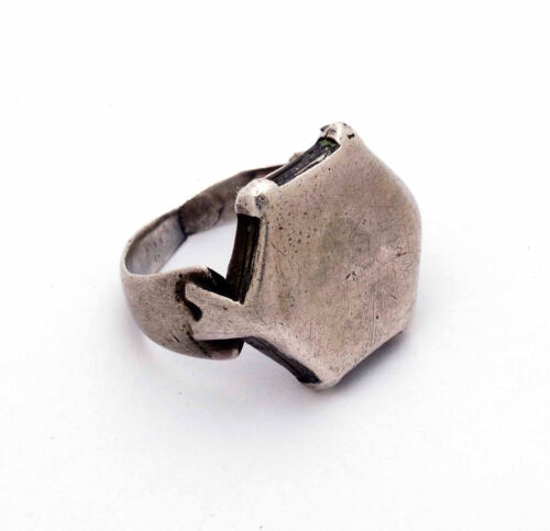 Antique ethnic silver Islamic ring Seljuk Middle East 11/12th century