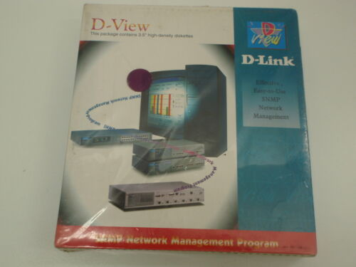 D-LINK D-VIEW DS-200 SNMP NETWORK MANAGEMENT PROGRAMD-LINK D-VIEW DS-200 SNMP NE