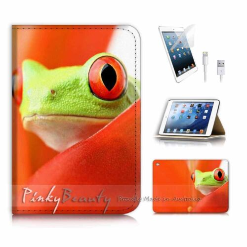 ( For iPad mini 4 ) Smart Cover & Base Case P3960 Green Frog