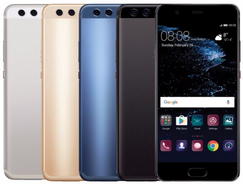 "Huawei P10 Plus 128GB VKY-L29 Dual Sim (FACTORY UNLOCKED) 5.5"" Blue Gold Black"