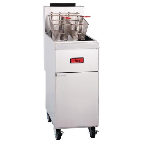 COMMERCIAL THOR LPG DEEP FRYER FISH CHIPS FOOD FRYING MACHINE TR-F35-LPG(A)