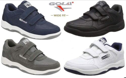 Gola Belmont Wide Fit EE Mens Suede or Leather Trainers Size 7-15 UK from £29.90 <br/> Recommended Retail Price £49.99 - Save up to £20