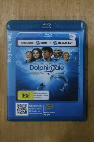 Dolphin Tale 2 (Blu-ray, 2014, 2-Disc Set  -** Excellent Used Condition**  (D70)