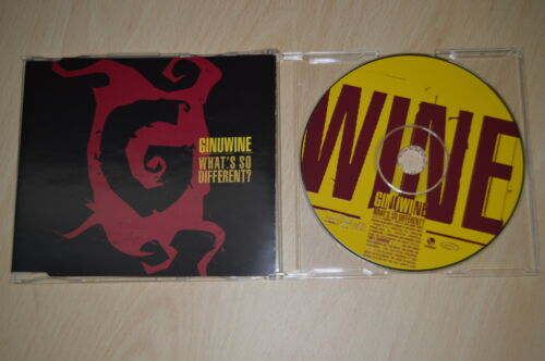Ginuwine ‎– What's So Different?. CD-Single promo