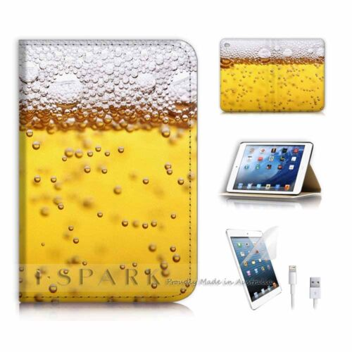 ( For iPad mini 4 ) Smart Cover & Base Case P6677 Beer