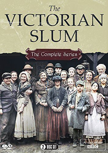 Victorian Slum The Complete Series DVD Collection BBC R4 New & Sealed