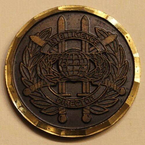 European Command Intelligence Director J2 Joint Chiefs Military Challenge CoinReproductions - 156452