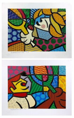 """ROMERO BRITTO """"TENNIS SUITE"""" 1994 