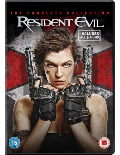 Resident Evil 1 2 3 4 5 DVD Box Set 1-5 The Final Chapter Complete collection