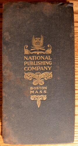 Antique National Publishing Company 1902 New York Rail Road Folding Map Book!!