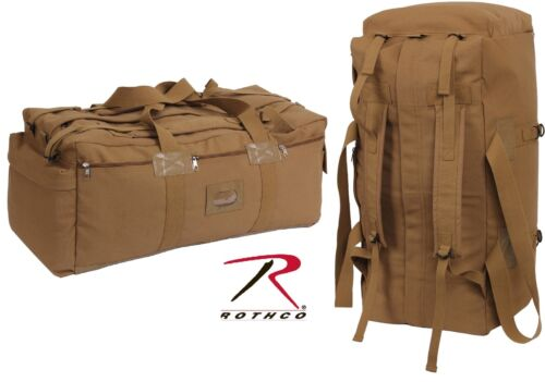 "Rothco Coyote Brown Mossad Tactical Duffle Bag - Large 34"" Canvas"