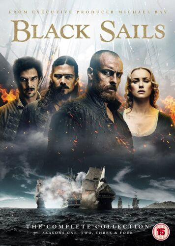 """Black Sails The Complete Collection Seasons 1, 2, 3 & 4 DVD Box Set New """"on sale"""