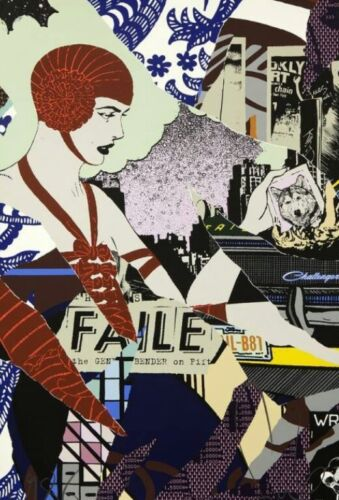 faile print NIGHT BENDER signed and numbered OBO