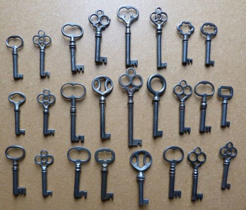 25 Antique Furniture Keys Cabinet Keys  Dressers Bookcases Wardrobes Servers