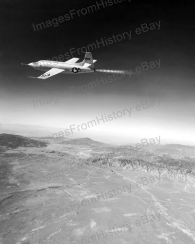 8x10 Print Bell X-1 Rocket Engine Powered Military Aircraft 1948 #BX1Reproductions - 156472