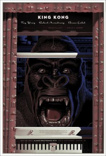 KING KONG Laurent DURIEUX Variant limited edition print 175 MONDO 24x36 RARE
