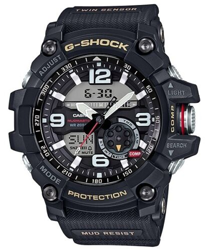 Casio G-Shock Black Twin Sensor Mudmaster GG1000-1A GG-1000-1ADR <br/> 3% OFF YOUR PURCHASE! USE CODE POTTER3 AT CHECKOUT