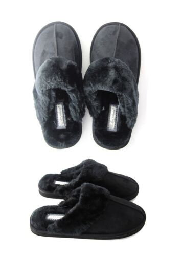 Ladies Womens Genuine Faux Fur Sheepskin Slippers Mules Non Slip Hard Sole Size <br/> * * * FREE UK DELIVERY * * *   !!!!!!!!!!!!!!!!!!!!!!!