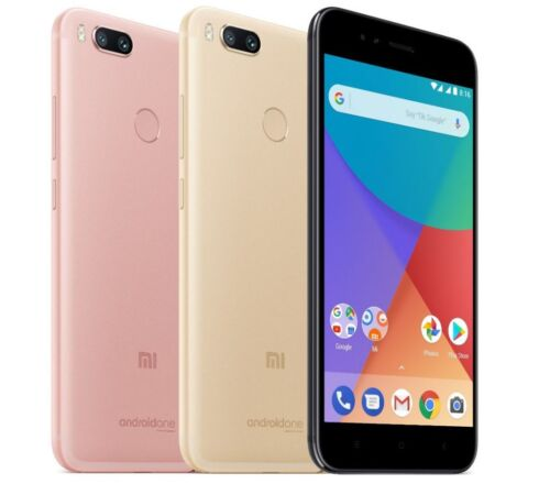 "Xiaomi Mi A1 (FACTORY UNLOCKED) 5.5"" 64GB 4GB RAM Black Gold Rose"