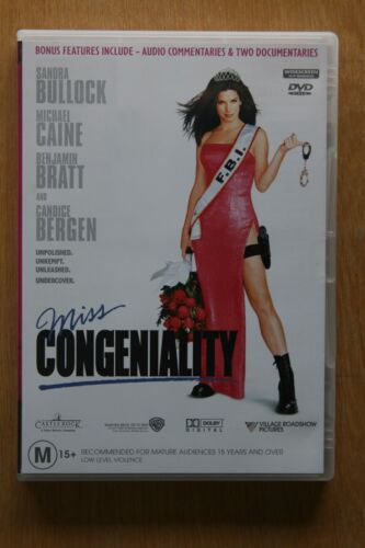 Miss Congeniality (DVD, 2001)    Preowned (D209)