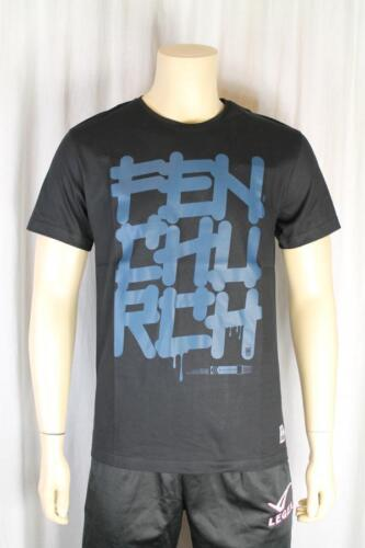 FENCHURCH nero da uomo t shirt taglia media (79)