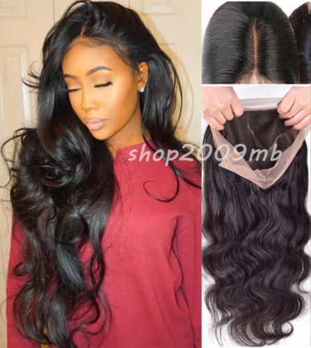 """Glueless Lace Front Full Wig 360g 24"""" Women Body Wave Wavy Wig With Baby Hair"""