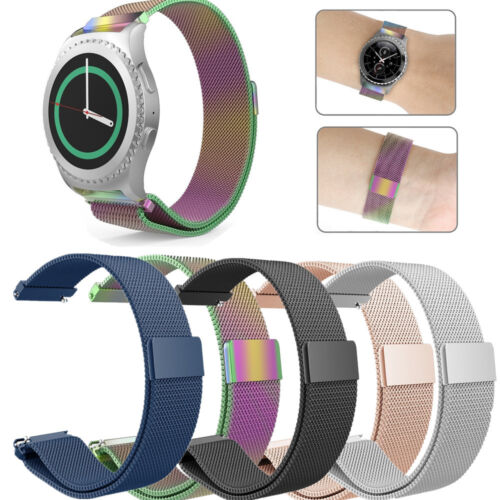 For Samsung Gear S2 Classic / Gear Sport Watch Bands Stainless Steel Strap 20mm