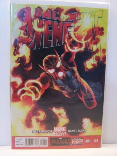 Marvel Comics Uncanny Avengers 008 8 Bagged and Boarded
