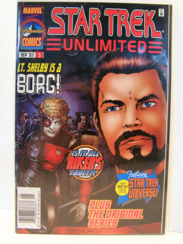 Marvel Comics Star Trek Unlimited 5 Bagged and Boarded 1996