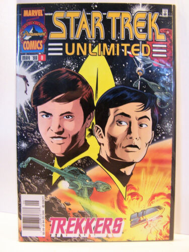 Marvel Comics Star Trek Unlimited 9 Bagged and Boarded 1996