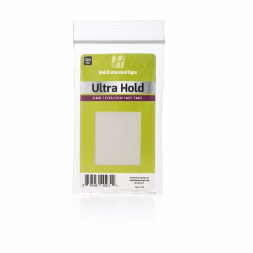 Walker Ultra Hold  Hair Extension Tape Tabs Double-Sided Pre Cut 120 Tabs/ Pack.
