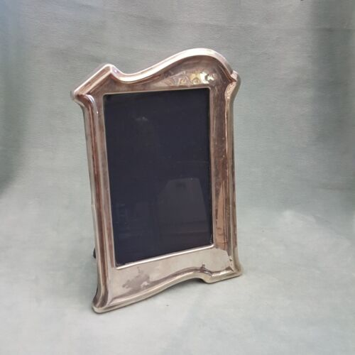 """OLD STERLING SILVER ART NOUVEAU PICTURE FRAME    5"""" BY 3""""1/2"""