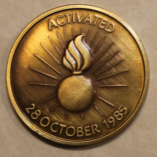 Armament for Peace Activated 28Oct85 Army Challenge CoinOriginal Period Items - 13983