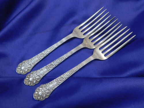 GORHAM MEDICI OLD STERLING SILVER PLACE FORK - VERY GOOD CONDITION S
