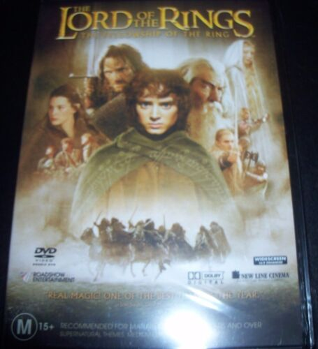 The Lord Of The Rings Fellowship Of The Ring (Aust Region 4) 2 Disc DVD – New