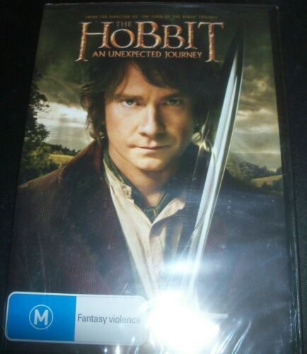 The Hobbit - An Unexpected Hourney (Australia Region 4) DVD – New