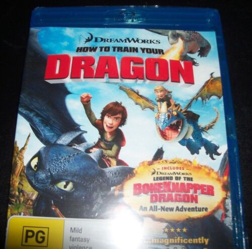 How To Train A Dragon (Australia Region B) Bluray – New