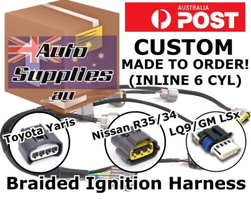 Tefzel Ignition Coil Harness Wiring Loom DIY R35 Yaris LQ9 LS RB JZ RB26 1JZ 2JZ