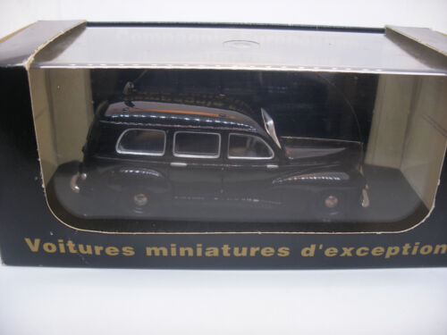 Voiture 1/43 ELIGOR France Collection CEC V3510 PEUGEOT 203 Noire GENDARMERIE