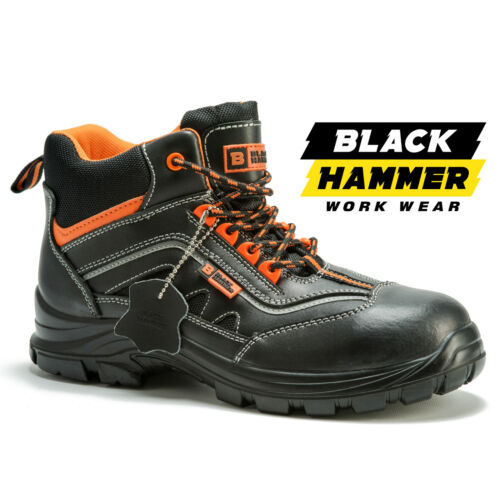 Mens Safety Boots Composite Toe Cap Made with Kevlar Shoes Ankle Size Metal Free <br/> ✔Metal Free Boots ✔Non Metal Sole Proection ✔FREE P&P