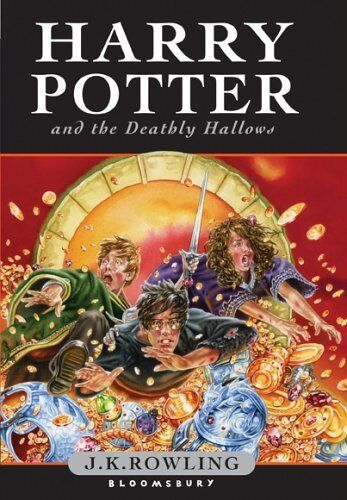 Harry Potter and the Deathly Hallows (Book 7) [Children's Edition] By J. K. Row