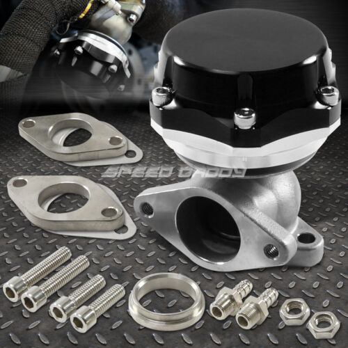 35MM/38MM TURBO CHARGER MANIFOLD BLACK 20 PSI COMPACT 2-BOLT EXTERNAL WASTEGATE <br/> FREE 3 DAYS SHIPPING IN 48 STATES PURCHASE BE4 3PM PST