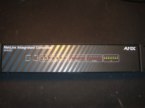 AMX NI-3000 Netlinx Integrated Controller Home Automation Pre-Owned