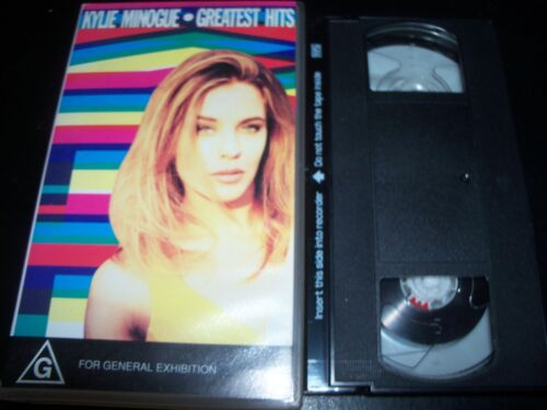Kylie Minogue Rare Greatest Hits Best Of Australian  VHS Video SAW PWL
