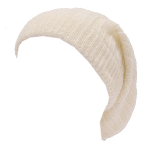 8089W cappello donna NO BRAND ivory wool blend hat woman