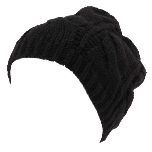8135W cappello donna MARTISSIMA BY MARTA MARZOTTO black wool blend hat woman