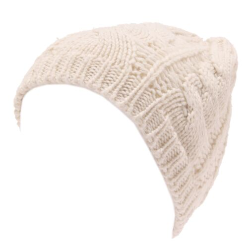 8280W cappello donna MARTISSIMA BY MARTA MARZOTTO ivory wool blend hat woman